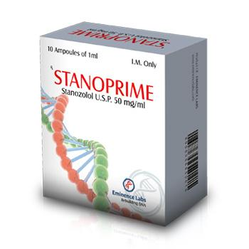 Stanoprime (stanozolol injection) 10 ampoules (50mg/ml)