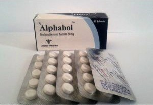 Alphabol (methandienone oral) 10mg (50 pills)