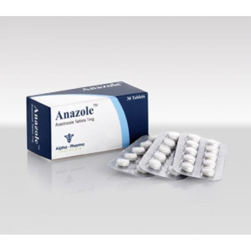 Anazole (anastrozole) 1mg (30 pills)