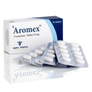 Aromex (aromasin) 25mg (30 pills)