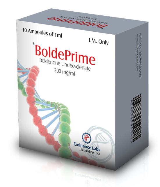Boldeprime (boldenone undecylenate) 10 ampoules (200mg/ml)