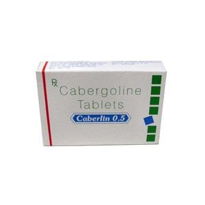 Caberlin 0.5 (cabergoline) 0.5mg (4 pills)