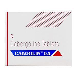 Cabgolin 0.5 (cabergoline) 0.25mg (4 pills)