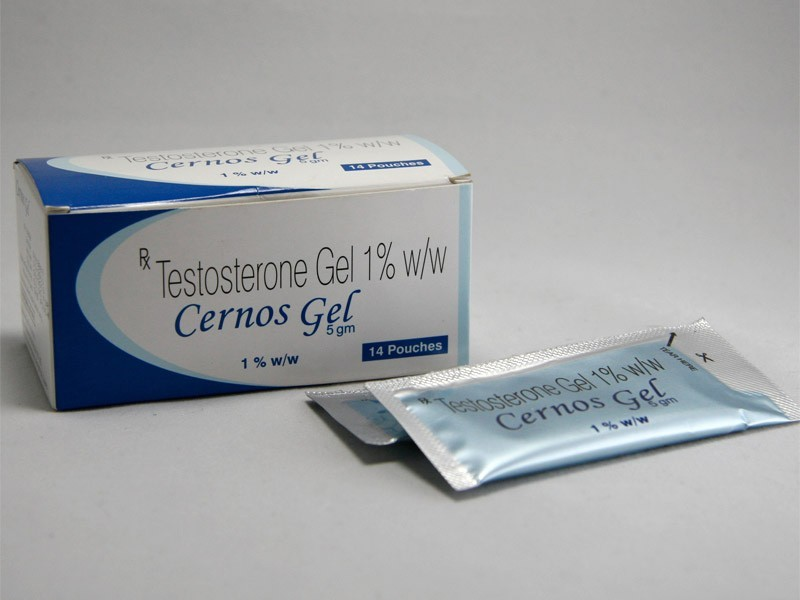 Cernos Gel (Testogel) (testosterone supplements) 14 sachet per box