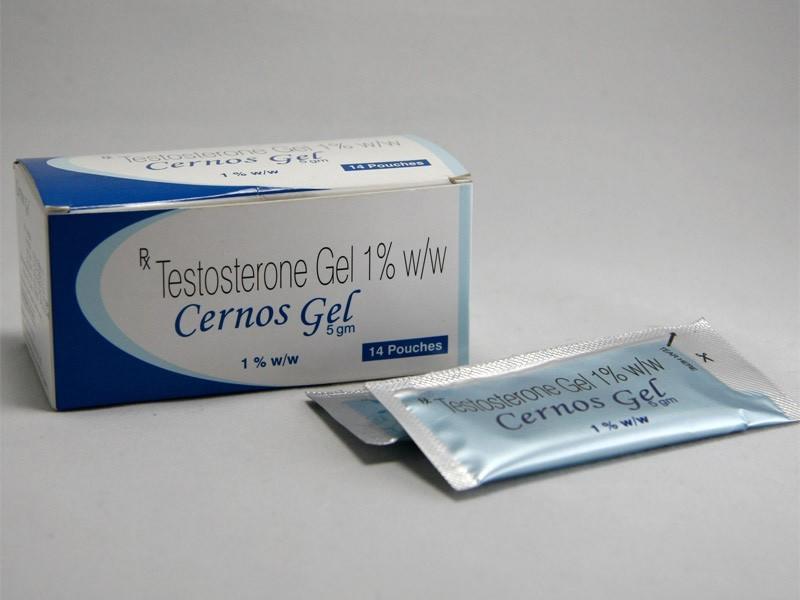 Cernos Gel (Testogel) (testosterone supplements) 14 sachet per box