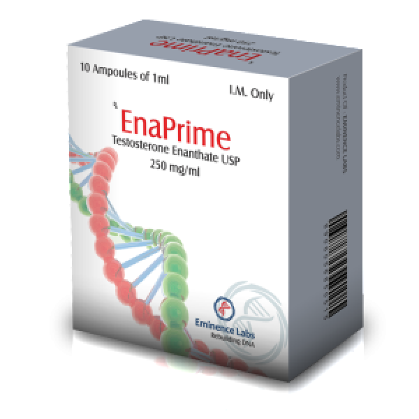 Enaprime (testosterone enanthate) 10 ampoules (250mg/ml)