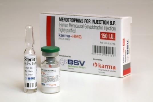 HMG 150IU (Humog 150) (growth hormone) 1 vial of 150IU