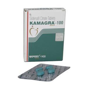 Kamagra Gold 100 (sildenafil citrate) 100mg (4 pills)