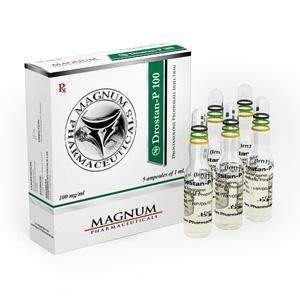 Magnum Drostan-P 100 (drostanolone propionate) 5 ampoules (100mg/ml)
