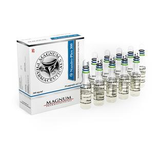 Magnum Nandro-Plex 300 (nandrolone phenylpropionate, nandrolone decanoate) 10 ampoules (300mg/ml)