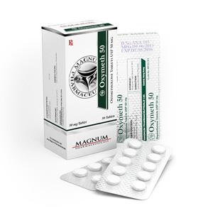 Magnum Oxymeth 50 (oxymetholone) 50mg (50 pills)