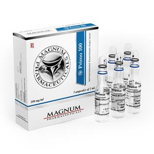 Magnum Primo 100 (methenolone enanthate) 5 ampoules (100mg/ml)