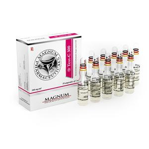 Magnum Test-C 300 (testosterone cypionate) 10 ampoules (300mg/ml)