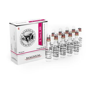 Magnum Test-E 300 (testosterone enanthate) 10 ampoules (300mg/ml)