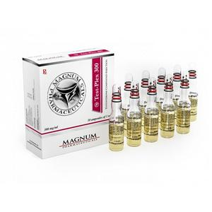 Magnum Test-Plex 300 (testosterone mix) 10ml vial (300mg/ml)