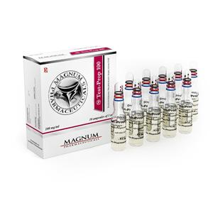Magnum Test-Prop 100 (testosterone propionate) 10 ampoules (100mg/ml)