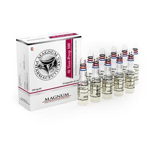 Magnum Test-Prop 100 (testosterone propionate) 10 ampoules (100mg/ml)