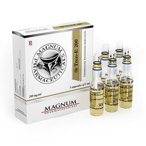 Magnum Tren-E 200 (trenbolone enanthate) 5 ampoules (200mg/ml)