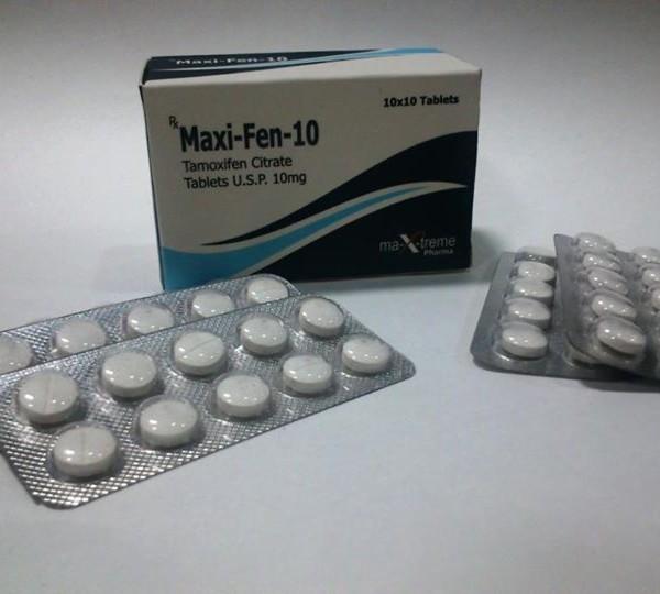 Maxi-Fen-10 (tamoxifen citrate) 10mg (50 pills )