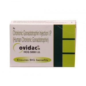 Ovidac 5000 IU (hcg) 1 vial of 5000IU