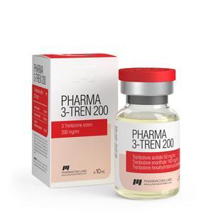Pharma 3 Tren 200 (trenbolone mix) 10ml vial (200mg/ml)