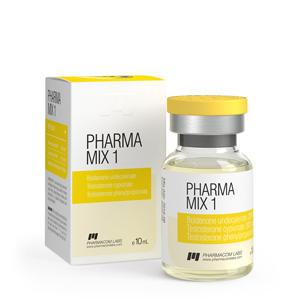 Pharma Mix-1 (testosterone phenylpropionate, testosterone cypionate, boldenone undecylenate) 10ml vial (450mg/ml)