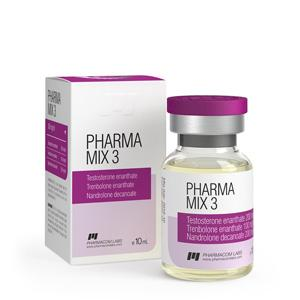 Pharma Mix-3 (testosterone enanthate, trenbolone enanthate, nandrolone decanoate) 10ml vial (500mg/ml)