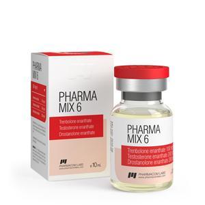 Pharma Mix-6 (trenbolone enanthate, testosterone enanthate, drostanolone enanthate) 10ml vial (500mg/ml)