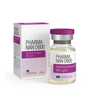 Pharma Nan D600 (nandrolone decanoate) 10ml vial (600mg/ml)