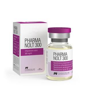Pharma Nolt 300 (nandrolone propionate, nandrolone phenylpropionate, nandrolone decanoate, nandrolone laurate) 10ml vial (300mg/ml)