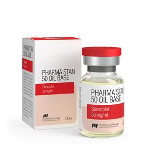 Pharma Stan 50 Oil Base (stanozolol injection) 10ml vial (50mg/ml)
