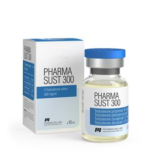 Pharma Sust 300 (testosterone mix) 10ml vial (300mg/ml)