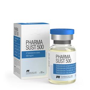 Pharma Sust 500 (testosterone mix) 10ml vial (500mg/ml)