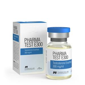 Pharma Test E300 (testosterone enanthate) 10ml vial (300mg/ml)