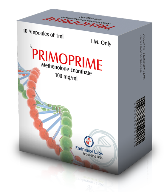 Primoprime (methenolone acetate) 10 ampoules (100mg/ml)