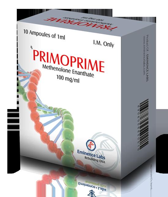 Primoprime (methenolone acetate) 10 ampoules (100mg/ml)