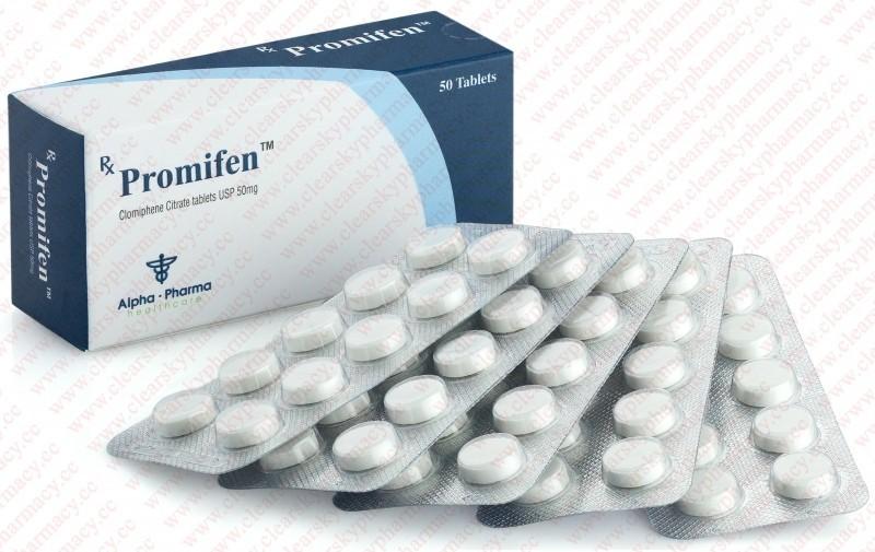 Promifen (clomiphene citrate) 50mg (50 pills)