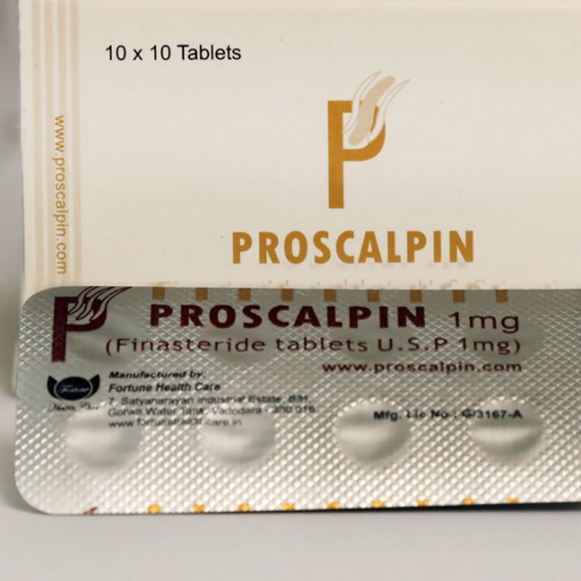 Proscalpin (finasteride) 1mg (50 pills)