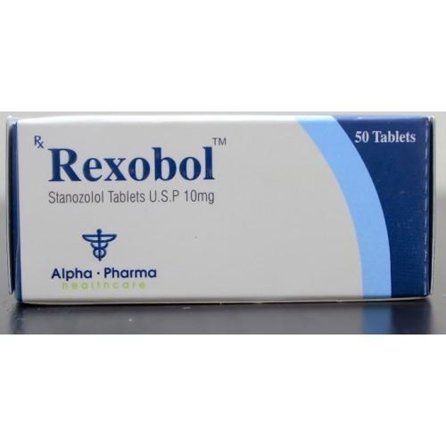 Rexobol-10 (stanozolol oral) 10mg (50 pills)