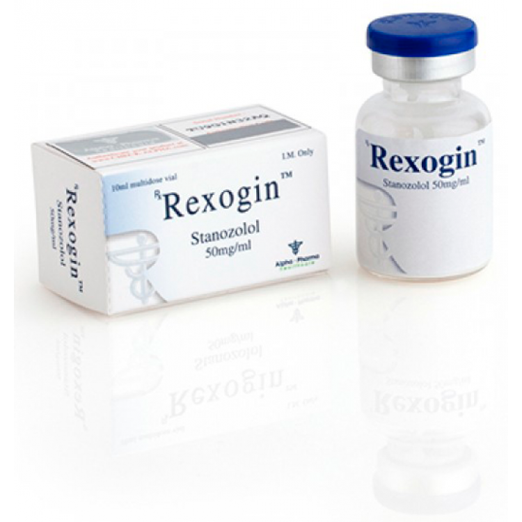 Rexogin (vial) (stanozolol injection) 10ml vial (50mg/ml)