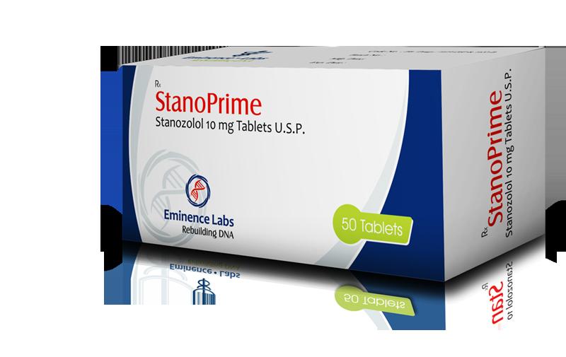 Stanoprime (stanozolol oral) 10mg (50 pills)