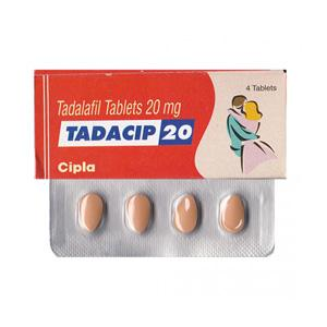 Tadacip 20 (tadalafil) 20mg (4 pills)