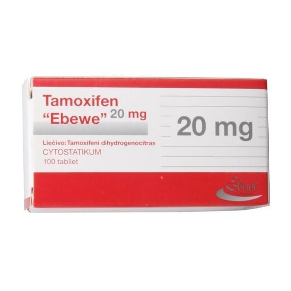 Tamoxifen 20 (tamoxifen citrate) 20mg (10 pills)