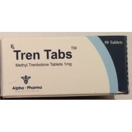 Tren Tabs (methyltrienolone) 1mg (50 pills)