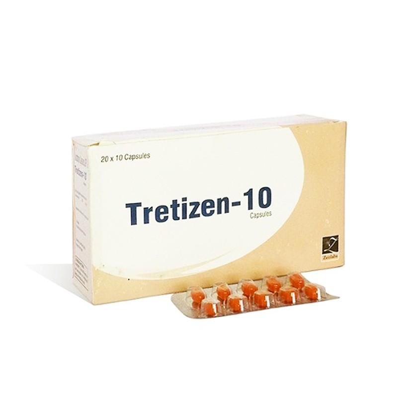 Tretizen 10 (isotretinoin) 10mg (10 capsules)