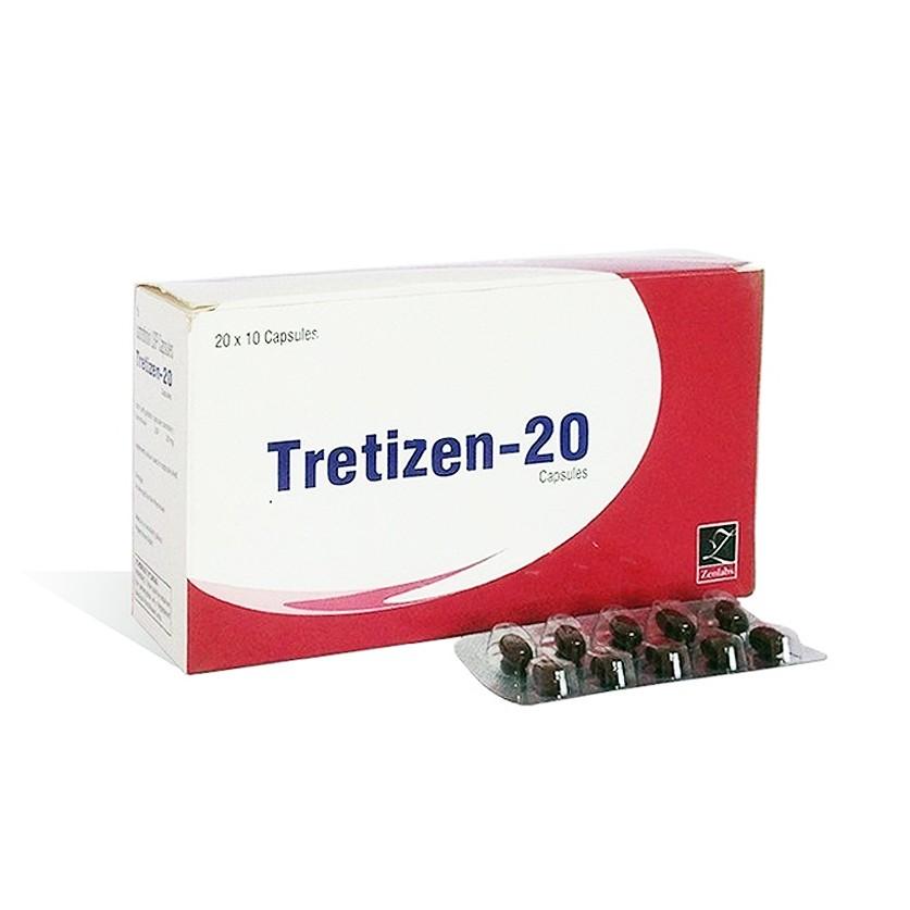 Tretizen 20 (isotretinoin) 20mg (10  capsules)