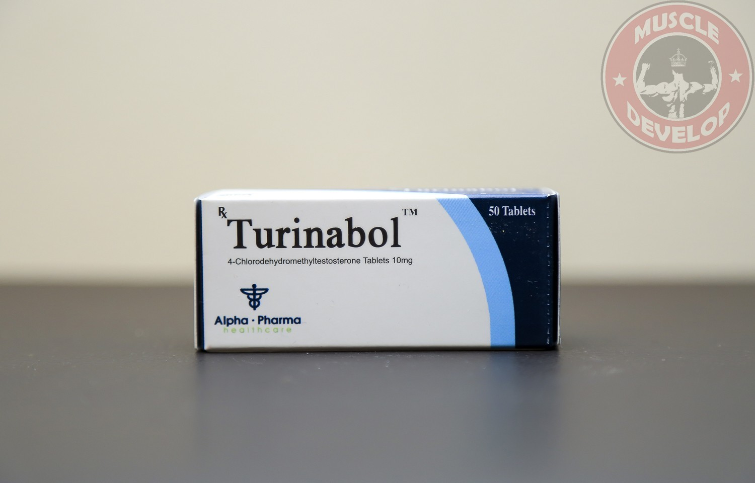 Turinabol 10 (turinabol (4-chlorodehydromethyltestosterone)) 10mg (50 pills)