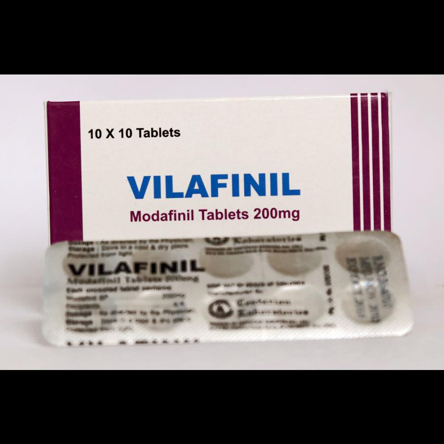 Vilafinil (modafinil) 200mg (10 pills)