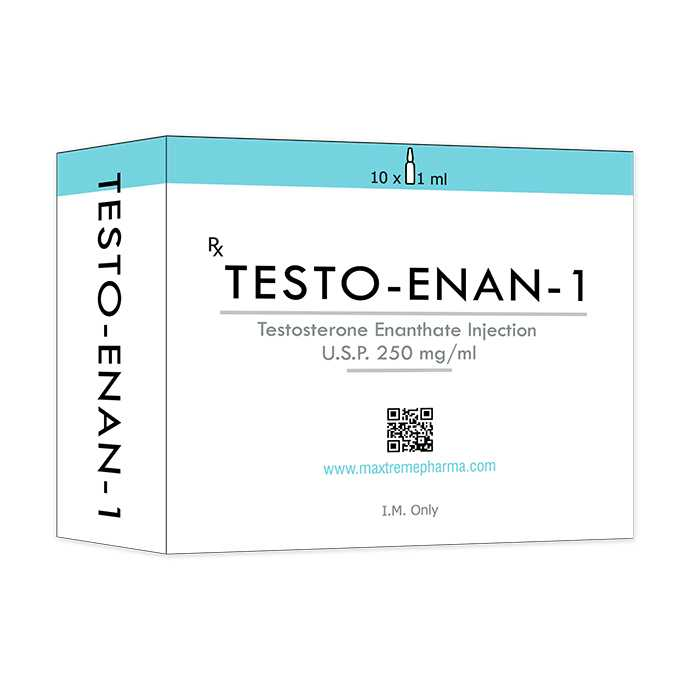 Testosterone Enanthate Injection, 250 mg/ml (10 ml)