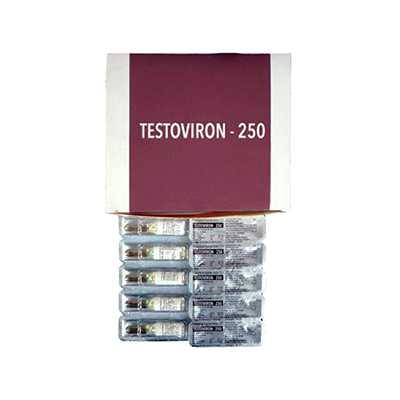 Testoviron-250 (testosterone enanthate) 10 ampoules (250mg/ml)